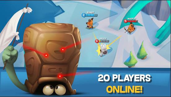 تحميل لعبة Zooba مهكرة أحدث اصدار للاندرويد