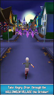 تحميل لعبة Angry Gran Run مهكرة للاندرويد