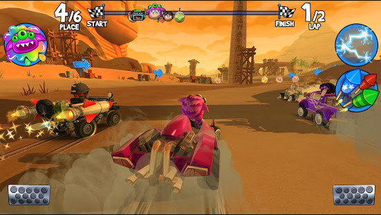 تحميل لعبة Beach Buggy Racing 2 مهكرة للاندرويد
