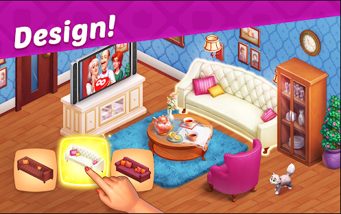 تحميل لعبة Homescapes أحدث اصدار مهكرة للاندرويد