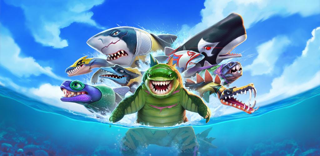 لعبة هنجري شارك Hungry Shark Evolution مهكرة 2021