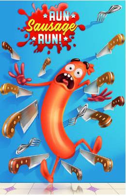 تحميل لعبة رون سوساج Run Sausage Run مهكرة للأندرويد
