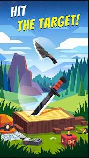 تحميل لعبة flippy knife مهكرة للاندرويد